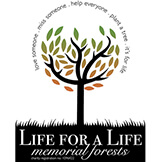 Life For A Life Memorial Forests Logo